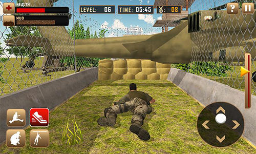 d'action US army course training school game pour smartphone