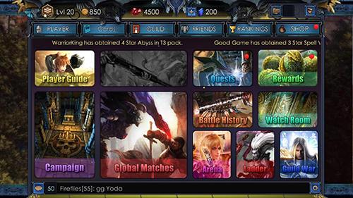 Online Epic cards 2: Dragons rising für das Smartphone