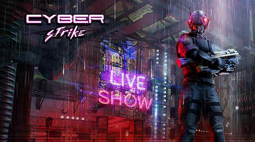 Cyber strike: Infinite runner screenshot 1