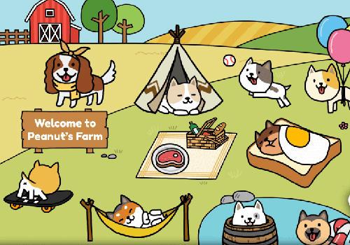 Dog game: Cute puppy collector für Android