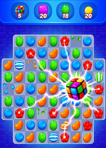 Sweet candy witch: Match 3 puzzle pour Android