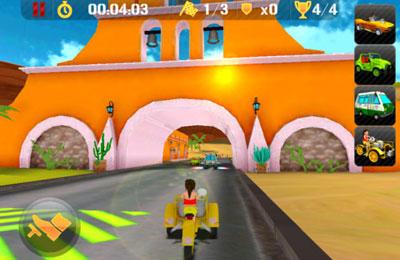 Rennen auf mexikanisch für iPhone