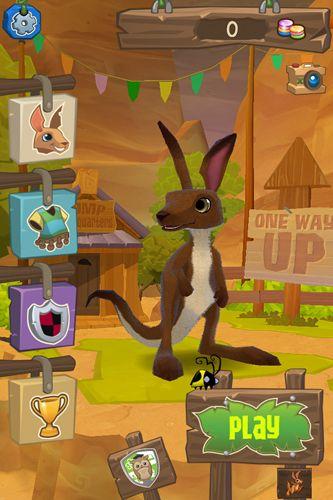 Arcade-Spiele: Lade Animal Jam: Springendes Känguru auf dein Handy herunter