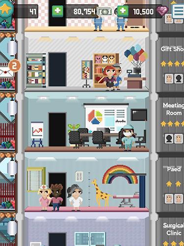 Arcade-Spiele Mini hospital für das Smartphone
