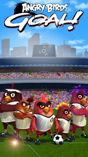 Angry birds: Goal! Symbol