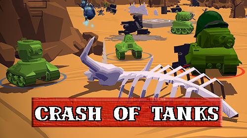 Crash of tanks online Screenshot