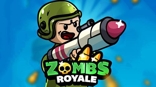 Zombs royale.io: 2D battle royale captura de pantalla 1