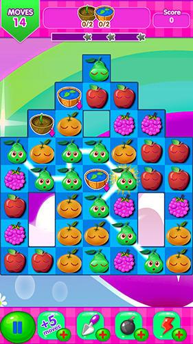 Match 3 Jewel fruit mania en français