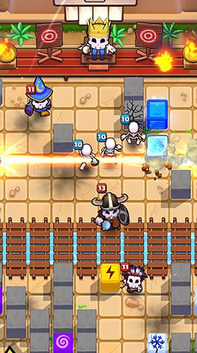 Magischer Blockkrieg Screenshot-Spiel