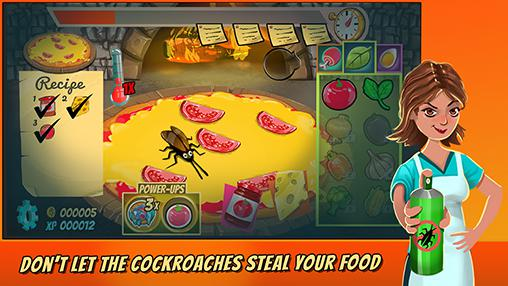 Pizza mania: Cheese moon chase für Android