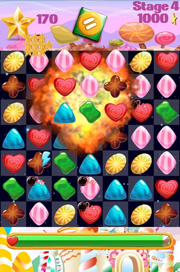 Candy gems and sweet jellies скриншот 4