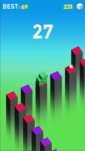 Arcade Jump cube für das Smartphone