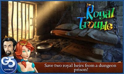 Adventure games Royal Trouble for smartphone