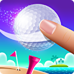 Flick golf island Symbol