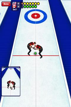 Curling 3D auf Deutsch