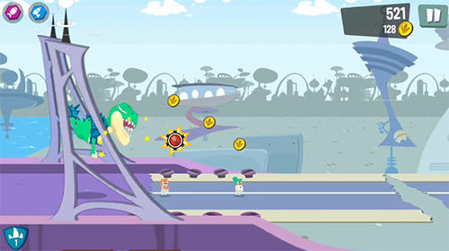 Arcade Unstoppable Rex für das Smartphone