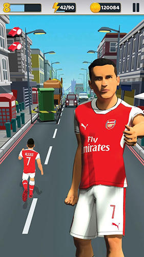 Arsenal FC: Endless football captura de pantalla 1