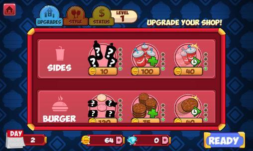 Für Kinder My burger shop: Fast food auf Deutsch