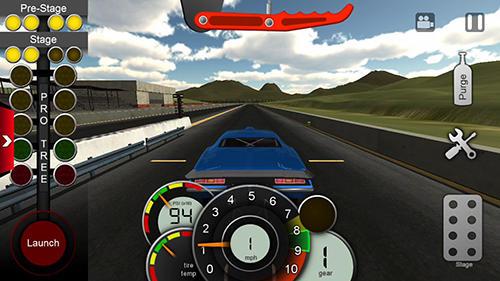 Pro series drag racing para Android