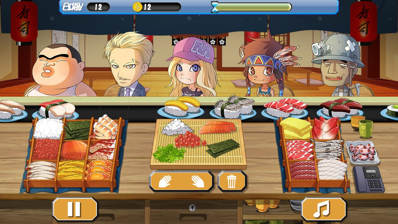 Sushi House - cooking master für Android