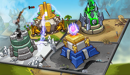 Strategiespiele Tower defense: Kingdom wars für das Smartphone