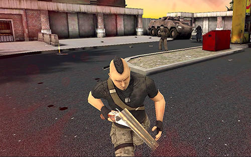 Actionspiele Slaughter für das Smartphone