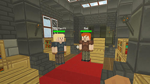Hide and seek treasures Minecraft style for Android