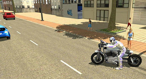 Rennspiele Furious city moto bike racer 2 für das Smartphone