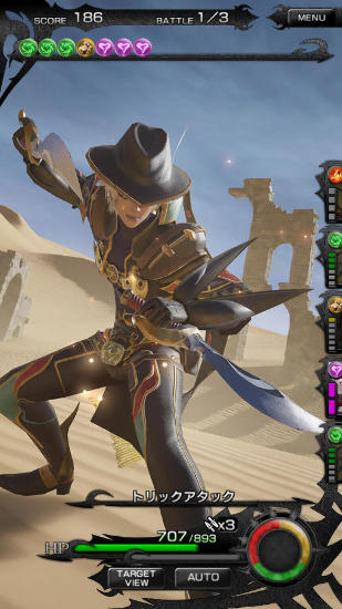 RPG Mobius final fantasy pour smartphone