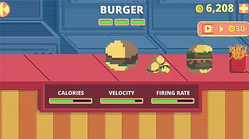 Arcade-Spiele Fast food rampage für das Smartphone