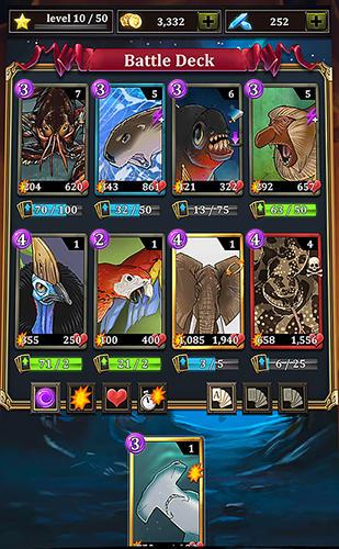 Kartenspiele Battle cards savage heroes TCG auf Deutsch
