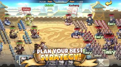 RPG-Spiele Chibi 3 kingdoms für das Smartphone