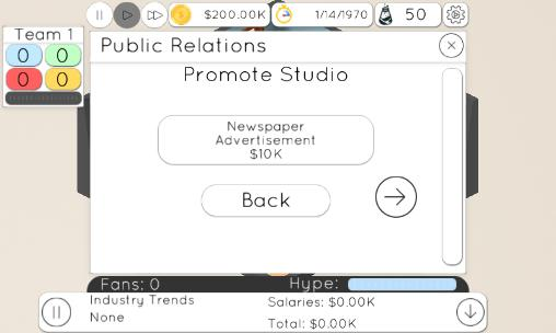 Game studio tycoon 2 screenshot 1