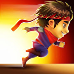 Ninja kid run ícone