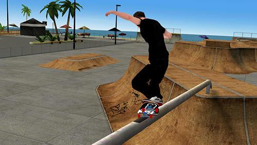 Screenshot Tony Hawk's Skate Jam auf dem iPhone