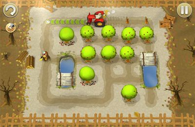 El camino del tractor