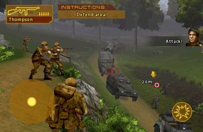 Action games: download Brothers In Arms: Hour of Heroes to your phone
