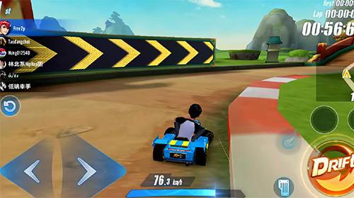 Racing Garena speed drifters for smartphone