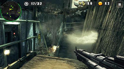 动作 Dead battlegrounds: 2K18 walking zombie shooting智能手机