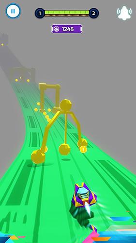 Arcade-Spiele Hovercraft turbo racing für das Smartphone