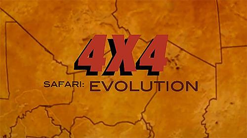 4x4 safari: Evolution captura de pantalla 1