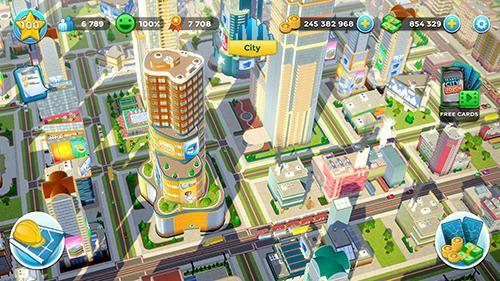 Citytopia: Construisez une ville de votre rêve en russe