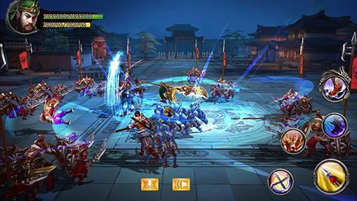 Strategie RPG Kingdom warriors auf Deutsch