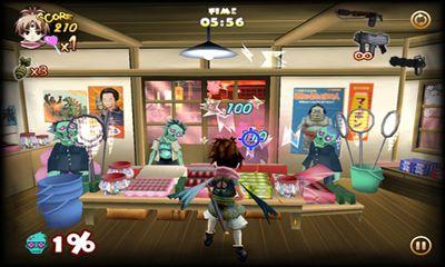 Zombie Panic in Wonderland captura de tela 1