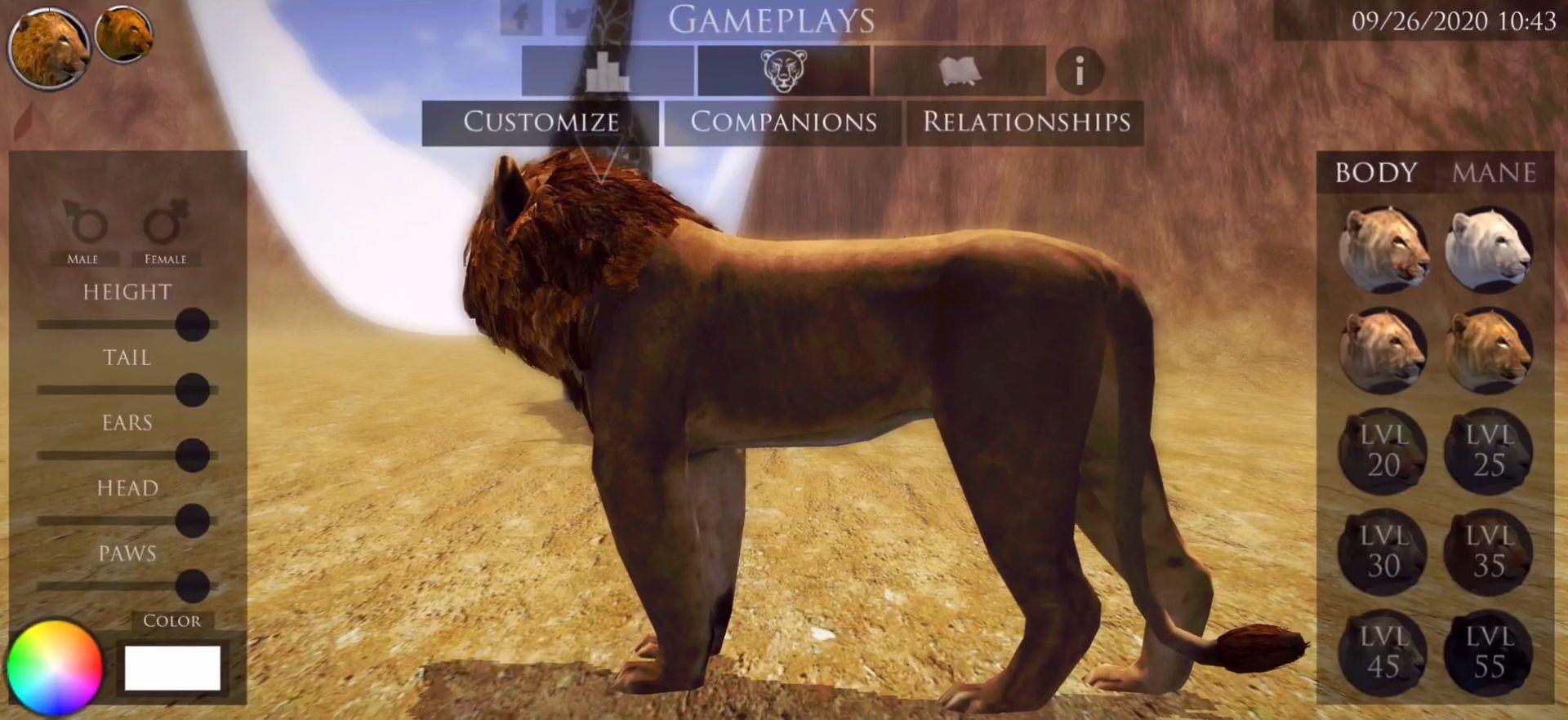 Ultimate Lion Simulator 2 screenshot 1