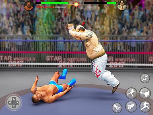Kämpfen World tag team wrestling revolution championship für das Smartphone