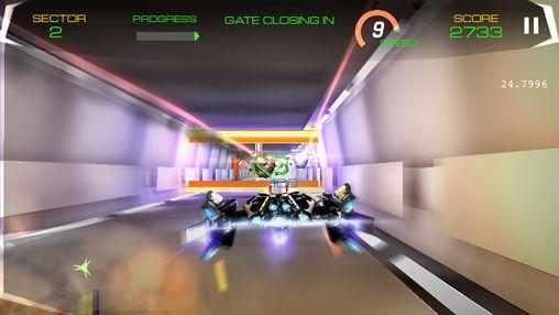 Screenshot Tunnel Blazer auf dem iPhone