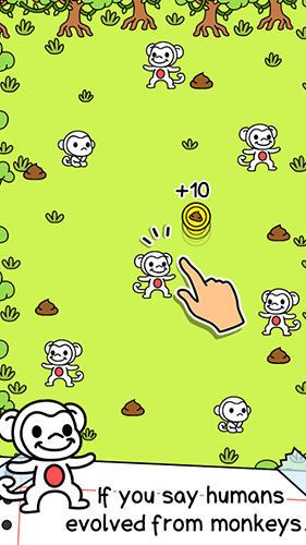 Monkey evolution: Clicker für Android
