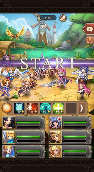 RPG-Spiele Cutie riot für das Smartphone