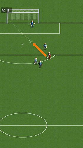 Sportspiele Soccer: Top scorer 2 für das Smartphone